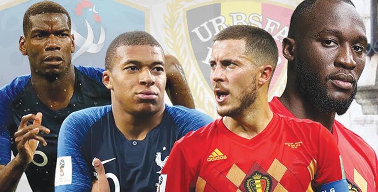 Des matchs à couteaux tirés : France-Belgique et Angleterre-Croatie en demi-finale de la Coupe du monde