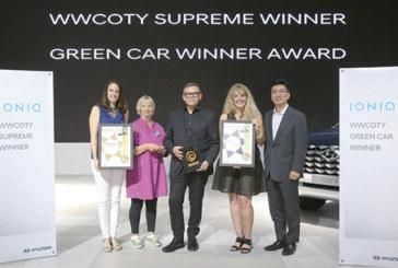 Meilleures voitures pour femmes au monde : Hyundai Ioniq 2018 doublement récompensée