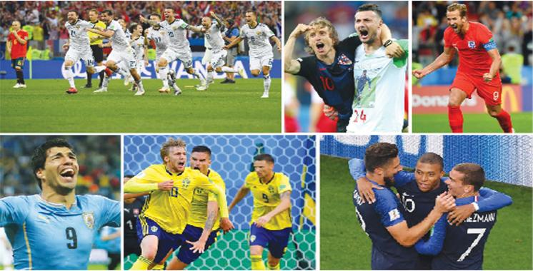 Russie 2018 : Place aux quarts de finale