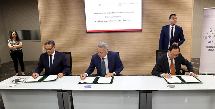 Le chinois Citic Group s'implante au Maroc : 350 millions d'euros pour la production de jantes aluminium