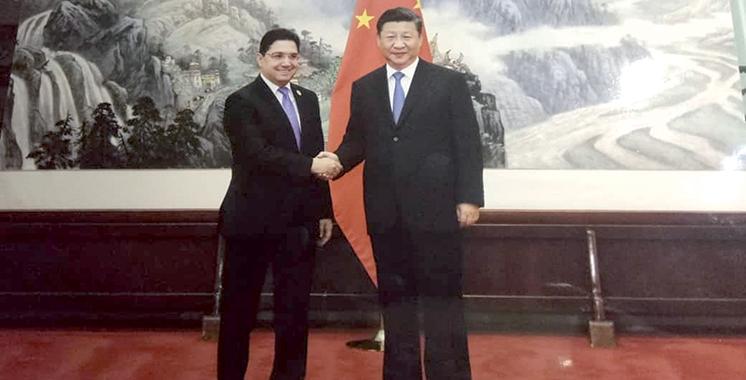 Bourita s'entretient à Pékin avec le chef de la diplomatie chinoise : La mise en oeuvre du partenariat stratégique bilatéral au menu