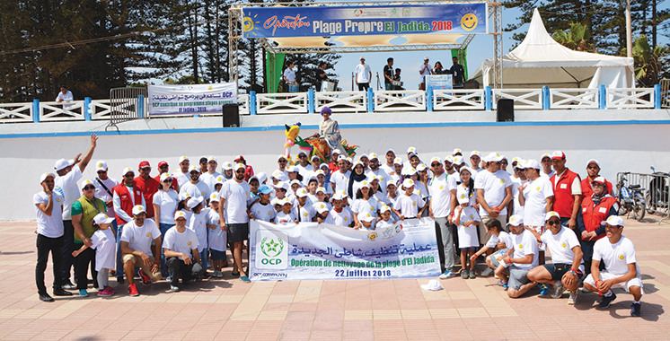 Plages propres : OCP renforce ses actions de sensibilisation dans la province d'El Jadida