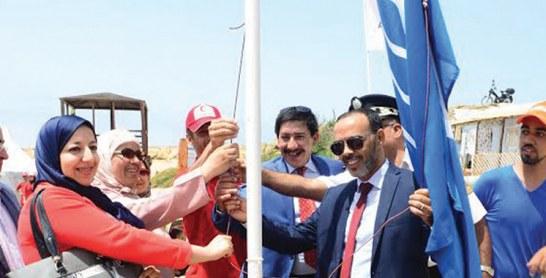Pour la sixième année consécutive : Pavillon bleu pour la plage Ba Kassem à Tanger