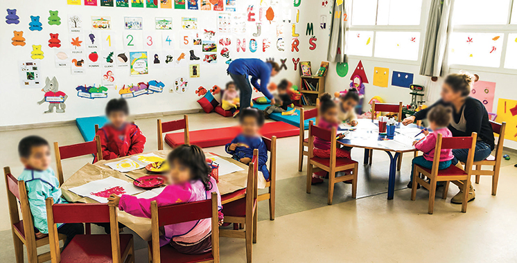 727.000 enfants ne fréquentent pas la maternelle au Maroc !