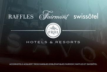 Programme de fidélité : Raffles Ambassadors, Fairmont President's Club et Swissôtel Circle au Club AccorHotels