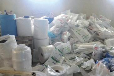 Mohammedia : Saisie de 2 tonnes de sacs en plastique destinées à la commercialisation