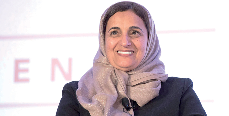 Sheikha Loubna Bint Khalid El Qasimi : «Nous portons la responsabilité d'assurer l'avenir de nos jeunes»