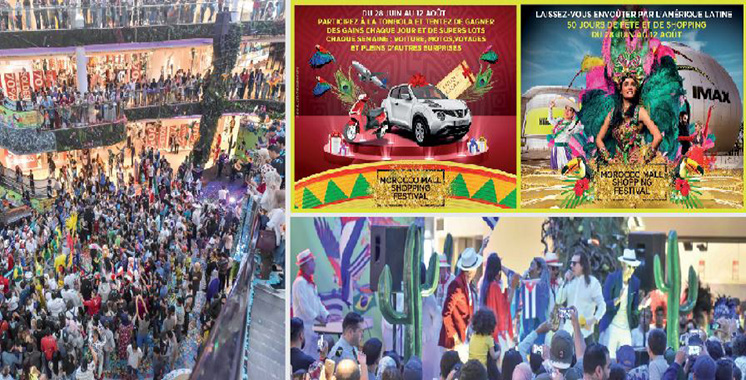 Le 4ème Shopping Festival se poursuit jusqu'au 12 août au Morocco Mall : Partez à la découverte des pays d'Amérique latine !