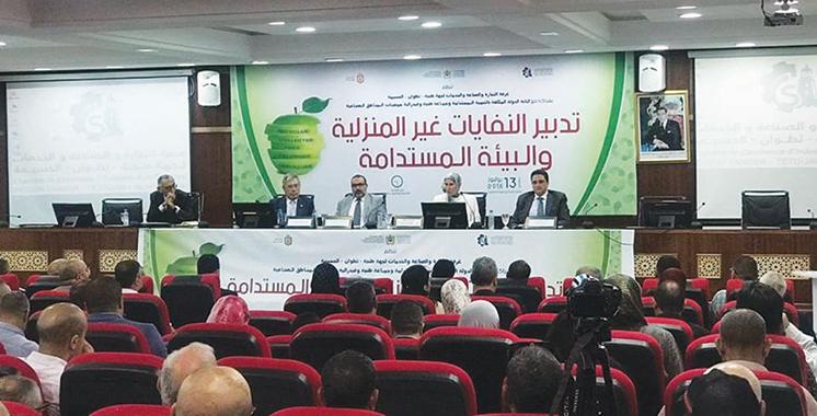 Tanger : La gestion des déchets non  ménagers à l'ordre du jour