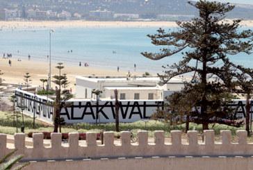 Sam Baron, JR et Rero questionnent  la ville d'Essaouira : Ils dévoilent leurs créations dans plusieurs lieux
