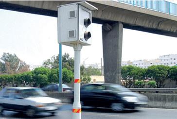 Radars fixes : Plus de 878.000 infractions enregistrées à fin juin 2018