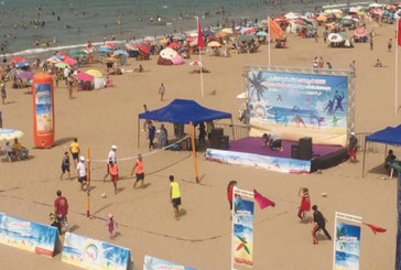 La 1ère édition du programme national «sports de plage»,  du 27 juillet au 12 août
