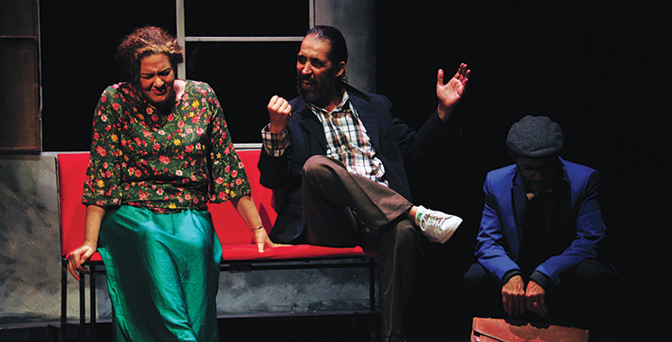 «Nissyan», une pièce de théâtre sur fond  des œuvres de Mohamed Berrada