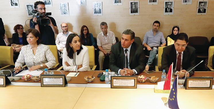 Accord de pêche :  Le Maroc et l'UE bâtissent le socle de la durabilité