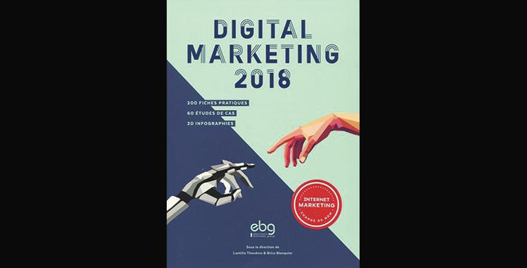 Digital Marketing 2018 : 200 fiches pratiques-60 études de cas-20 infographies, de Brice Blanquier et Laetitia Théodore