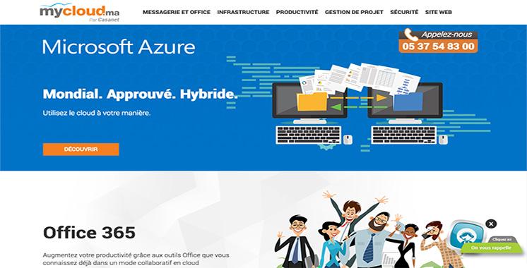 Mycloud.ma par Casanet top partenaire de Microsoft au Maroc