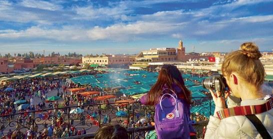 Marrakech : Les Français en tête des nuitées et des arrivées touristiques à fin août