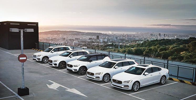 Résultats d'exploitation record pour Volvo Cars : Plus de 407 millions d'euros au 2ème trimestre 2018