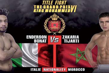 Le GP SM le Roi Mohammed VI de kick-boxing ce samedi à Laâyoune