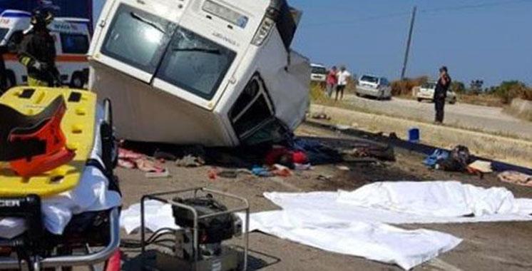 Accident de la circulation au sud de l'Italie : Deux Marocains  parmi les victimes