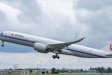 Airbus : le A350-900 livré à Air China