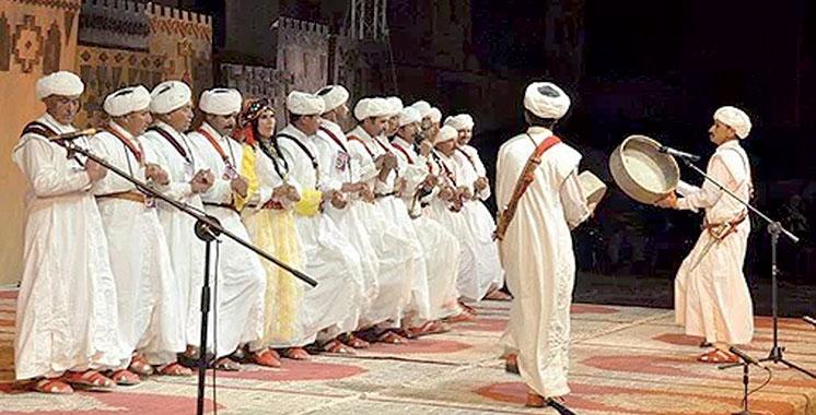 La 7ème édition du Festival des arts d'Ahwach du 10 au 12 août à Ouarzazate