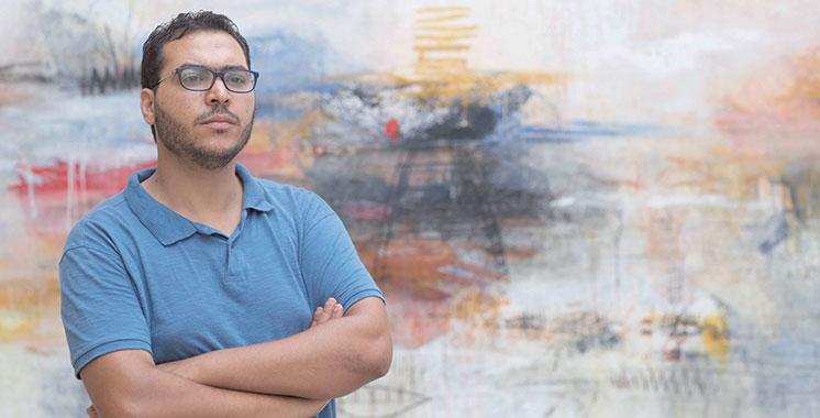 Exposition collective en Allemagne : Abdelaziz Ousalah marque « Le Temps » de son empreinte