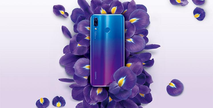 Le Huawei Nova 3 disponible sur Hmizate