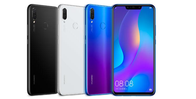 Smartphones : Huawei lance la nouvelle série nova 3