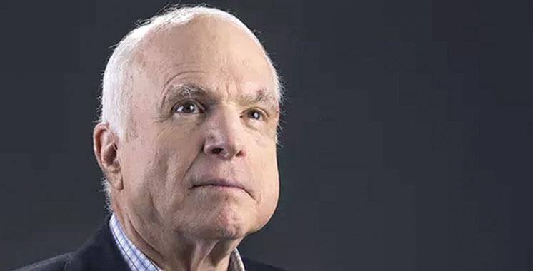 Message de condoléances de SM le Roi aux membres de la famille du sénateur John McCain