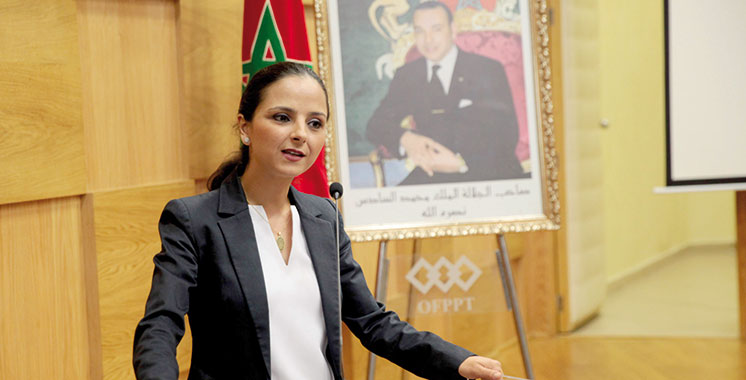 Formation professionnelle : Loubna Tricha s'enquiert de l'avancement des travaux de la CMC de Laâyoune
