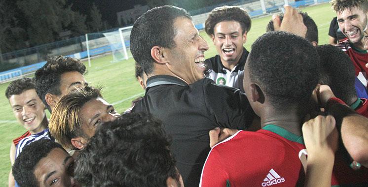 Le Maroc qualifié pour la CAN 2019  des moins de 17 ans