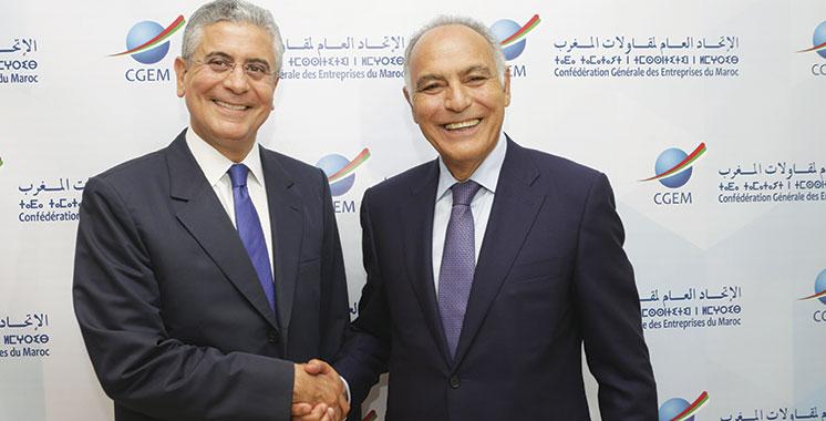 La Banque mondiale et la CGEM renforcent leur partenariat : Un groupe de travail mixte sur  les rails