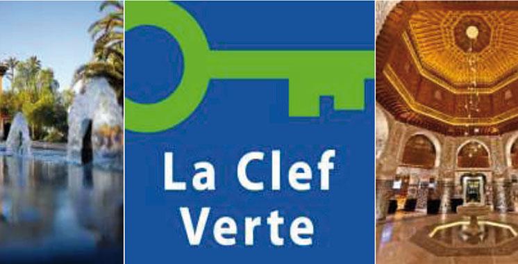 Palmeraie Palace labellisé  «Clef Verte»