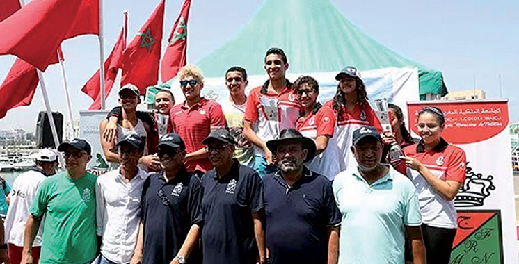 Championnat du Maroc de natation (eau libre) : Said Saber et Ayat Allah dominent la course