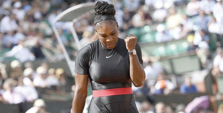 Roland-Garros : Williams range la polémique sur sa tenue  dans un placard