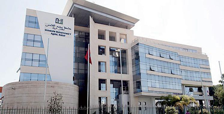 Elle occupe la 24ème place en Afrique L'Université Mohammed V de Rabat en tête du classement national