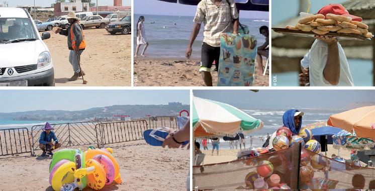 Ces petits métiers qui fleurissent sur nos plages en été