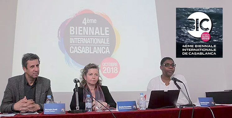 Un 1er catalogue bilingue pour la 4ème Biennale internationale de Casablanca