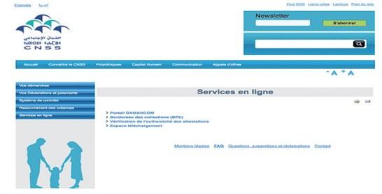 Dématérialisation : La CNSS dresse le bilan de ses services en ligne