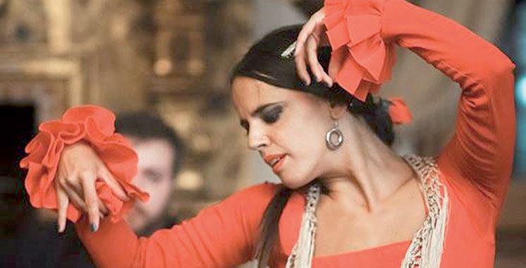 Spectacle de flamenco avec le groupe  Aina Núñez à Rabat