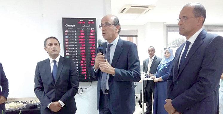 Attijariwafa bank : Les espaces LSB mis en avant à Tanger