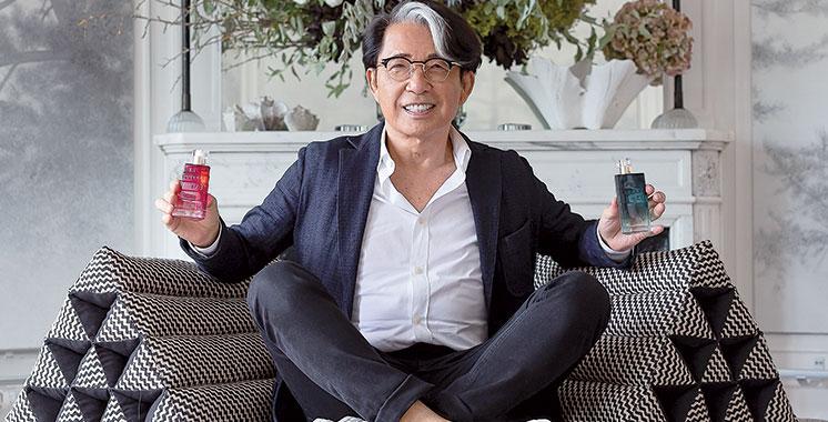Kenzo Takada signe le nouveau parfum d'Avon