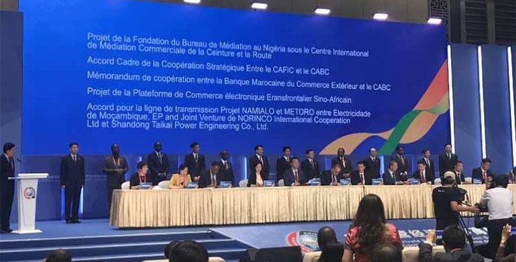 En signant une convention avec China-Africa Business Council : BMCE Bank of Africa pense fort à l'Afrique