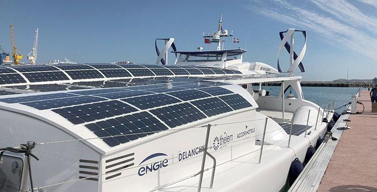 Energy Observer débarque  à Tanger
