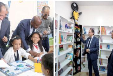Fruit d'un partenariat entre l'académie et le privé : «Biblio'Bic», une première bibliothèque scolaire à Casablanca