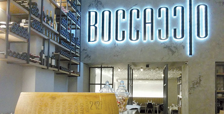Gastronomie: Le Boccaccio renouvelle sa carte