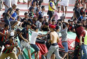 Actes de vandalisme : Deux matchs  à huis clos pour l'AS FAR