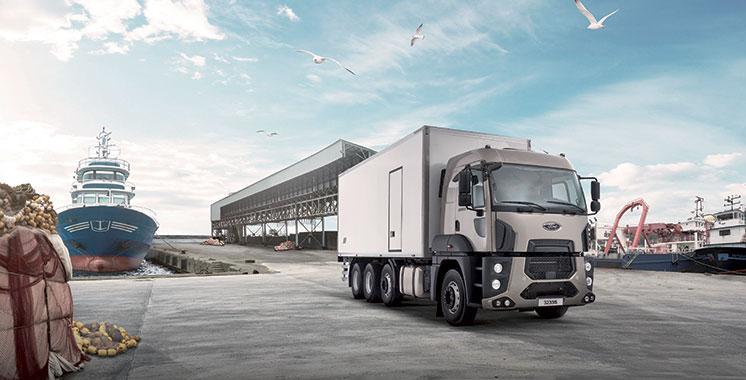 Il est de marque Ford Trucks 3233S HR : Un premier camion 8×2 débarque sur  les chaussées marocaines
