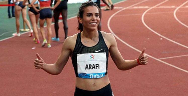 Coupe intercontinentale : Arrafi réalise la 3è meilleure performance féminine dans l'histoire du Maroc